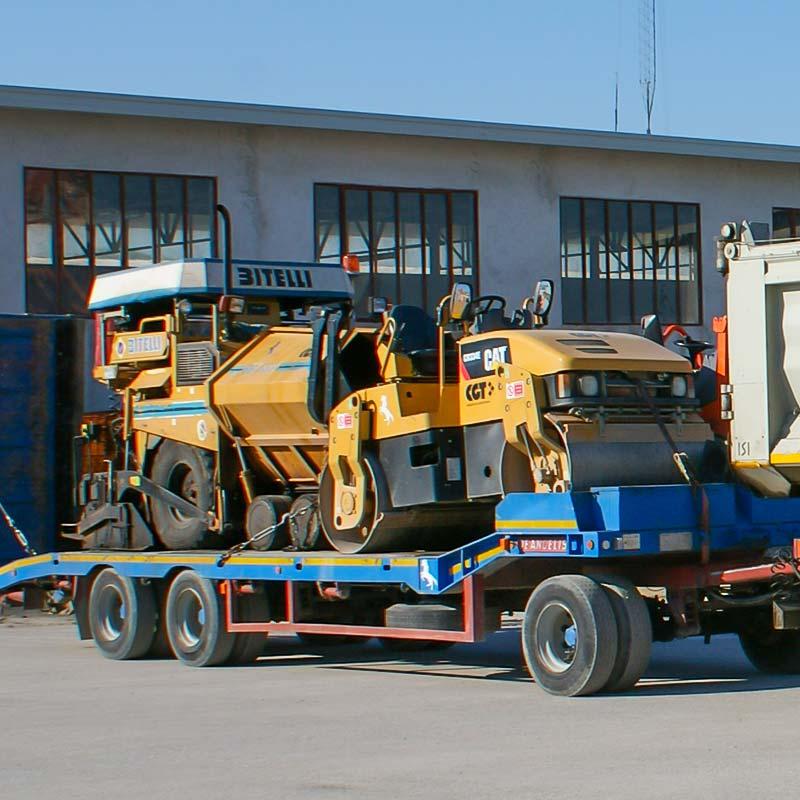 macchinari costruzioni stradali