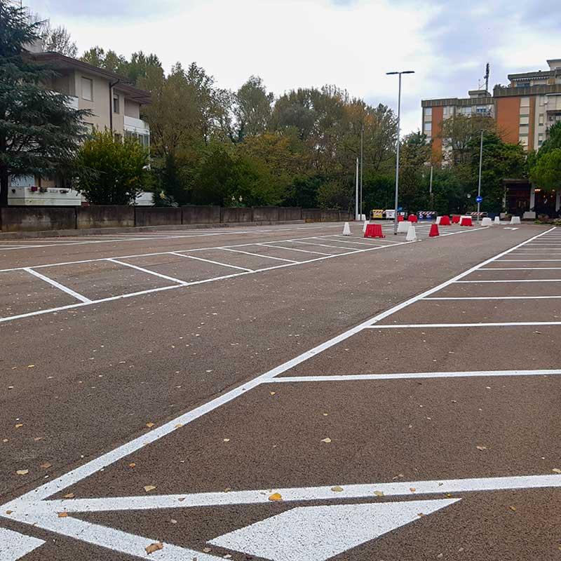 Pavimentazione stradale e parcheggi a Trieste - Ilsa Pacifici