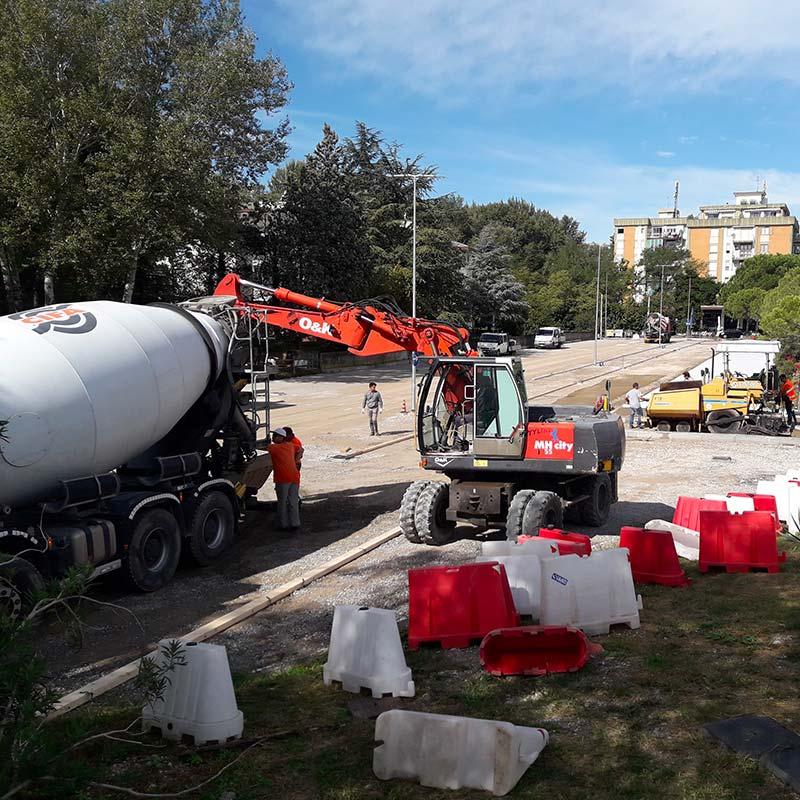 Costruzioni e lavori stradali Venezia Treviso Ilsa Pacifici