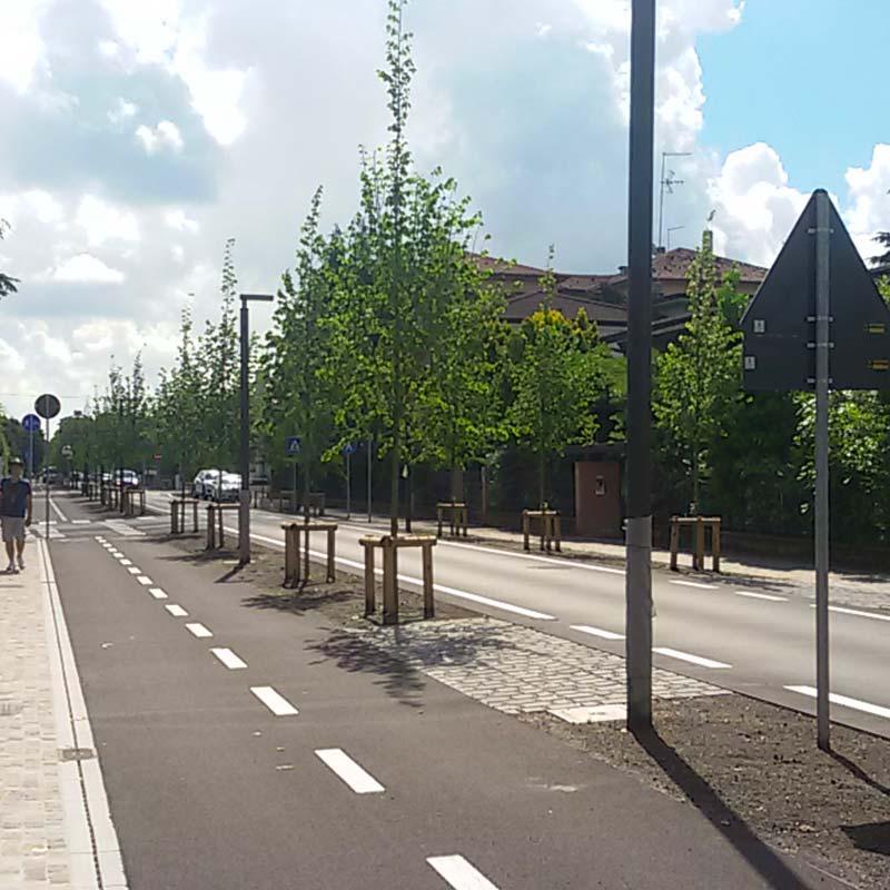 Pavimentazione stradale e arredo urbano